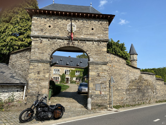704Km Tagestour  Belgien, Luxemburg